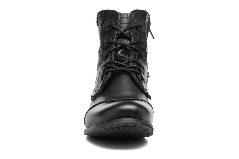 Bottines et boots Bunker Sara sar Noir vue portées chaussures
