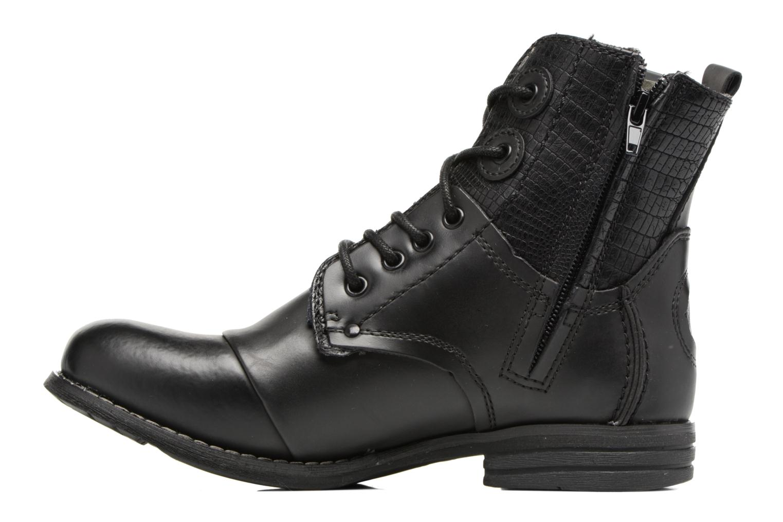 Bottines et boots Bunker Sara sar Noir vue face
