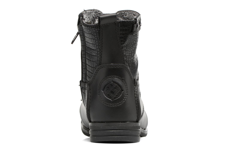 Bottines et boots Bunker Sara sar Noir vue droite