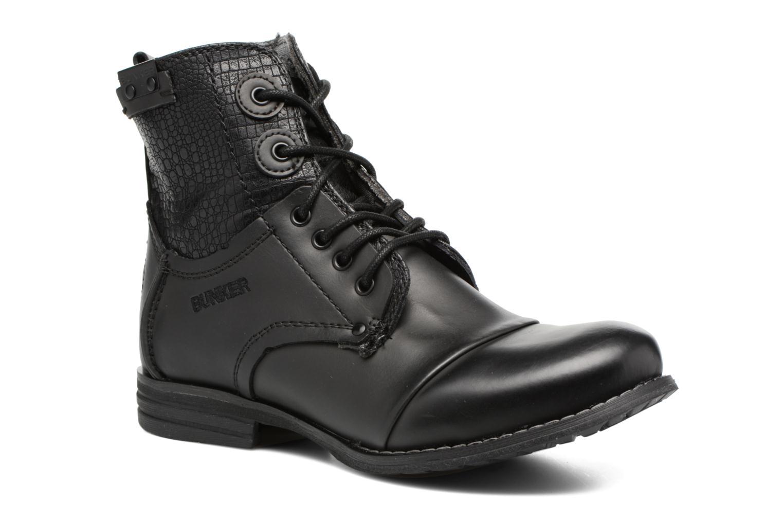 Boots en enkellaarsjes Bunker Sara sar Zwart detail