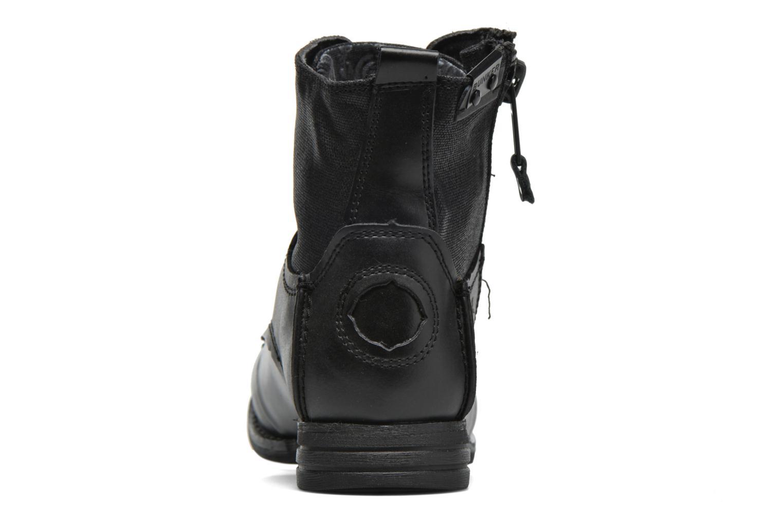 Stiefeletten & Boots Bunker Sara zip schwarz ansicht von rechts