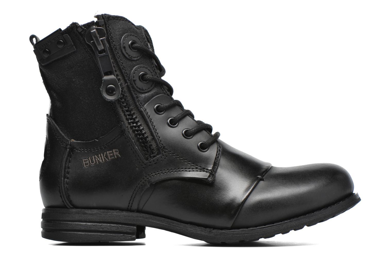 Boots en enkellaarsjes Bunker Sara zip Zwart achterkant