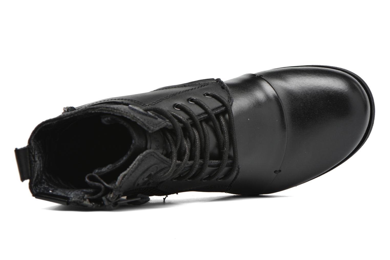 Bottines et boots Bunker Sara zip Noir vue gauche