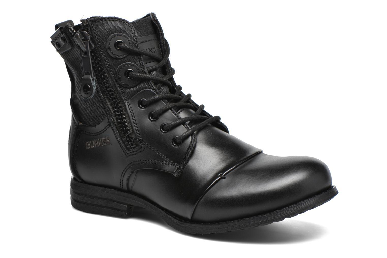 Bottines et boots Bunker Sara zip Noir vue détail/paire
