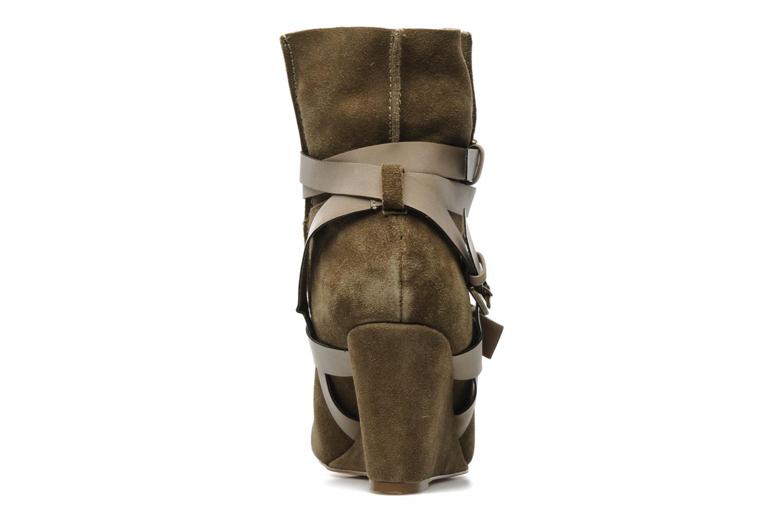 Bottines et boots Chocolate Schubar Gis Vert vue droite