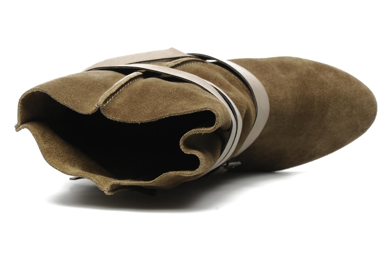 Bottines et boots Chocolate Schubar Gis Vert vue gauche