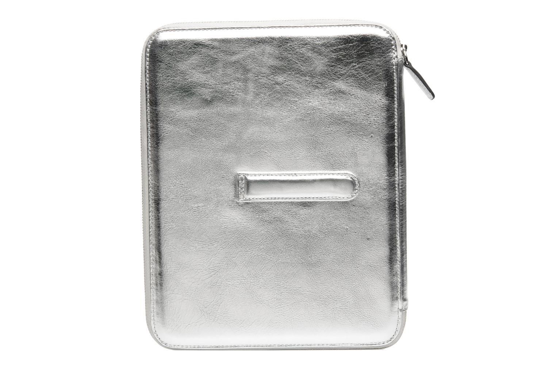 Kleine lederwaren Kesslord PADE Zilver voorkant