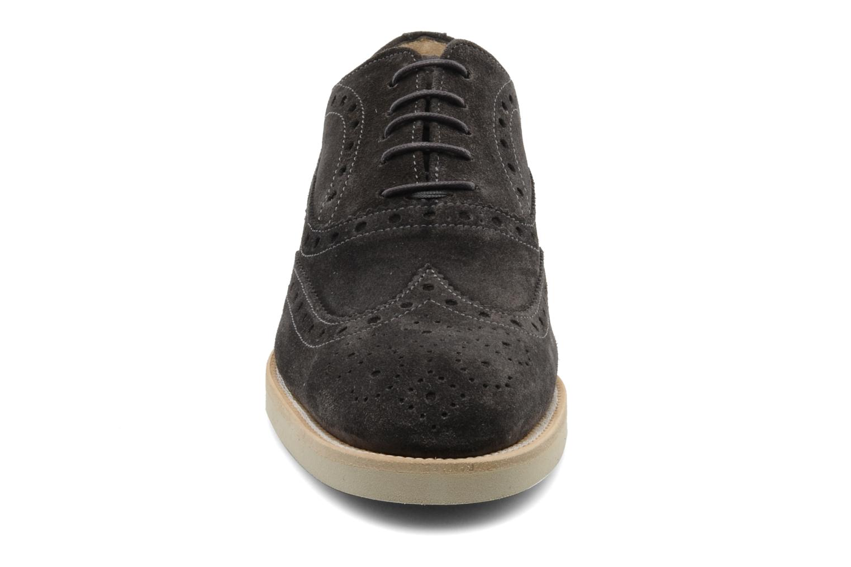 Chaussures à lacets Georgia Rose Pertoferraio Marron vue portées chaussures