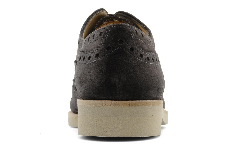 Chaussures à lacets Georgia Rose Pertoferraio Marron vue droite