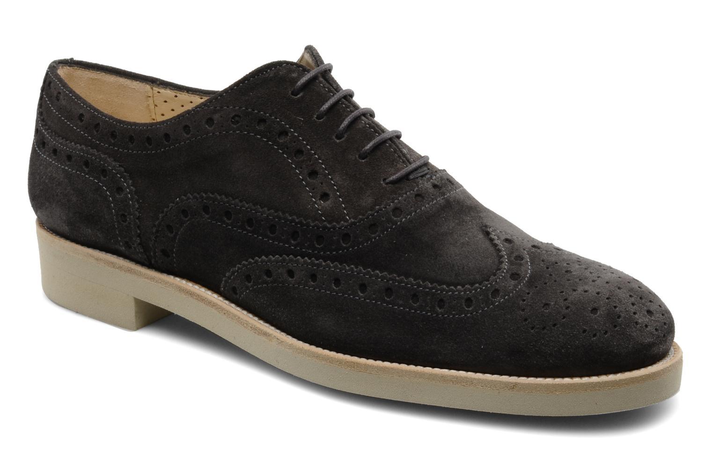 Chaussures à lacets Georgia Rose Pertoferraio Marron vue détail/paire