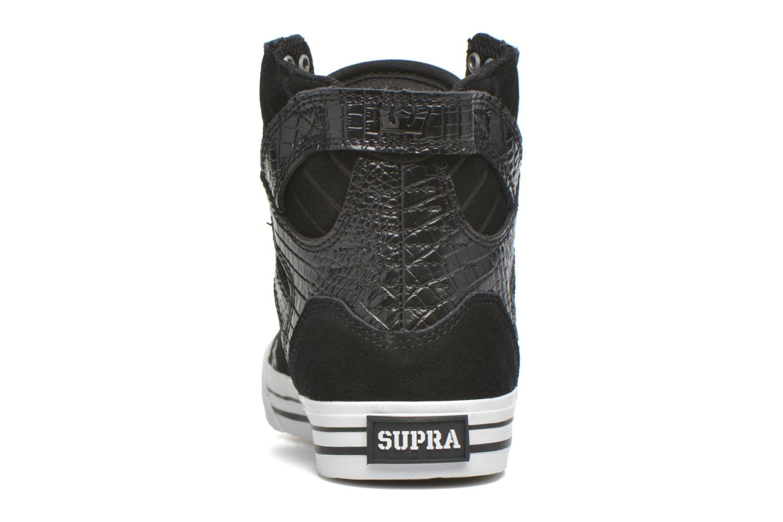 Baskets Supra Skytop w Noir vue droite