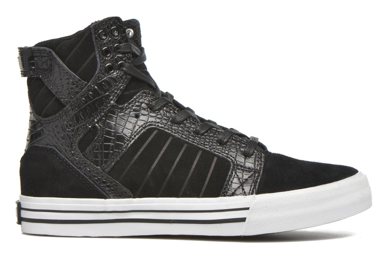 Sneaker Supra Skytop w schwarz ansicht von hinten