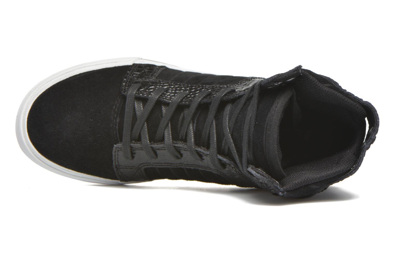 Sneaker Supra Skytop w schwarz ansicht von links