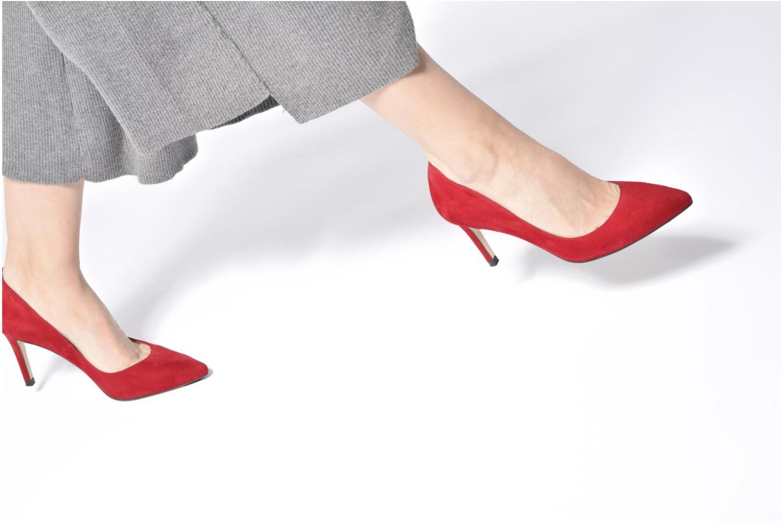 High heels L.K. Bennett Floret Pink view from underneath / model view