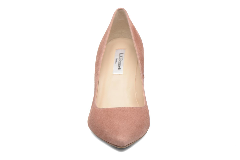 Escarpins L.K. Bennett Floret Rose vue portées chaussures