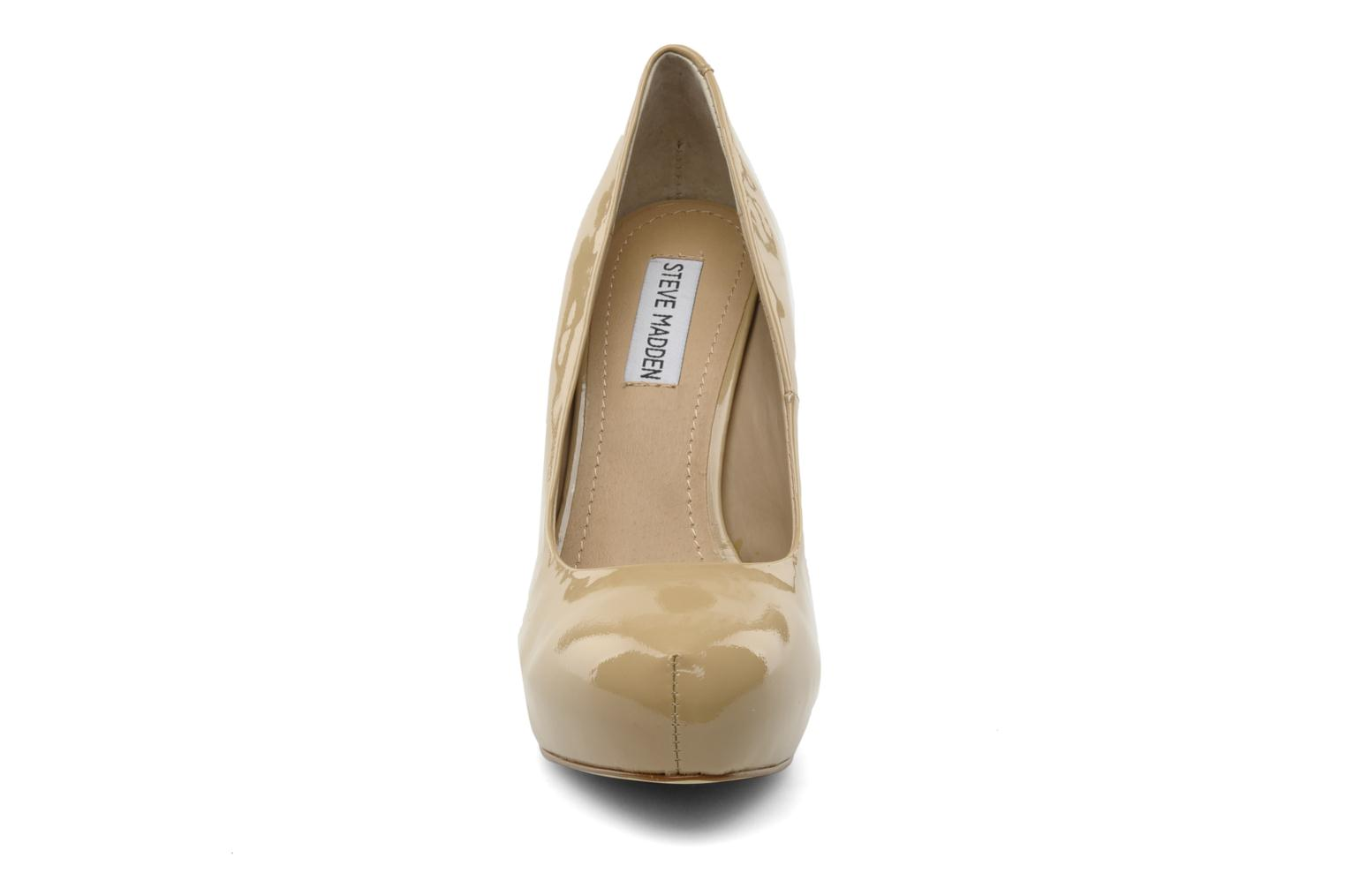 High heels Steve Madden Traisie Beige model view