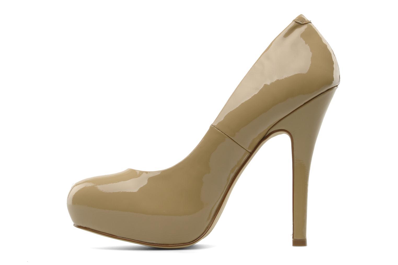 High heels Steve Madden Traisie Beige front view