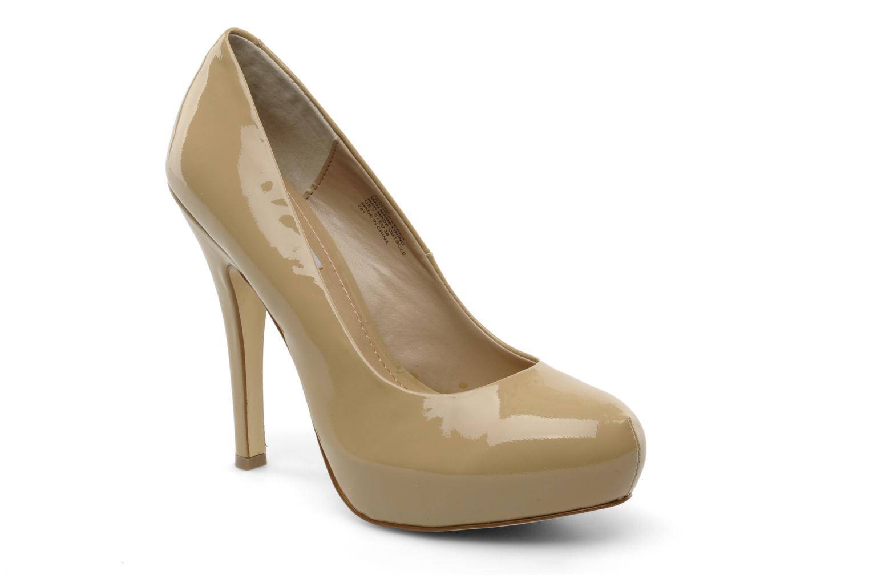 High heels Steve Madden Traisie Beige detailed view/ Pair view