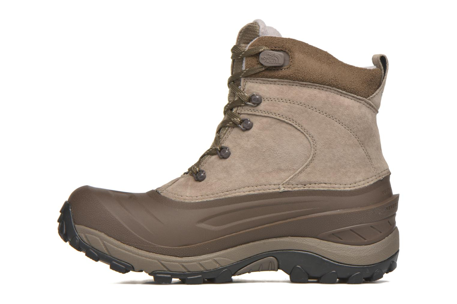 Chaussures de sport The North Face M Chilkat II Beige vue face