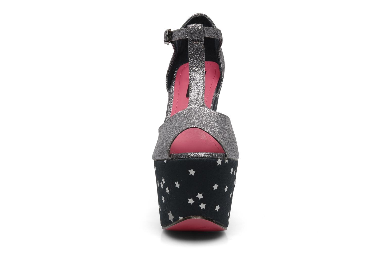 Sandales et nu-pieds Iron Fist STARRY NIGHT SUPER PLTFRM Argent vue portées chaussures