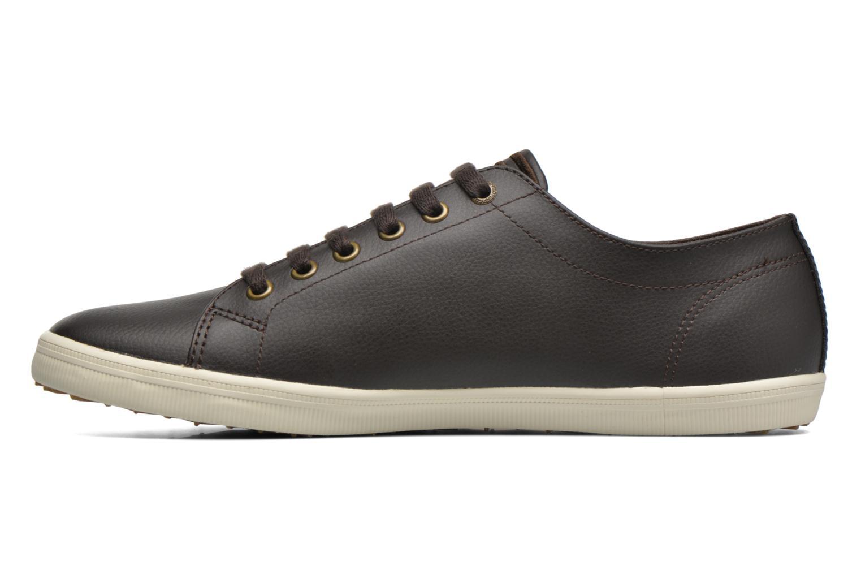 Sneaker Fred Perry Kingston Leather braun ansicht von vorne