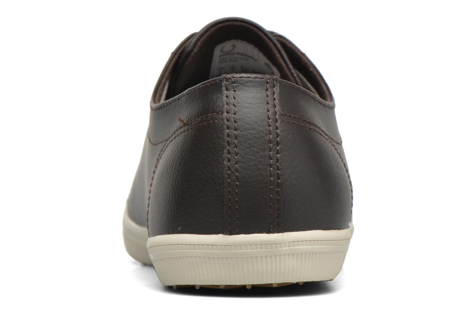 Sneakers Fred Perry Kingston Leather Bruin rechts
