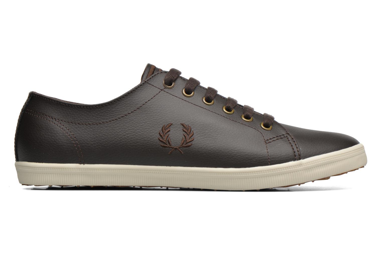 Sneaker Fred Perry Kingston Leather braun ansicht von hinten