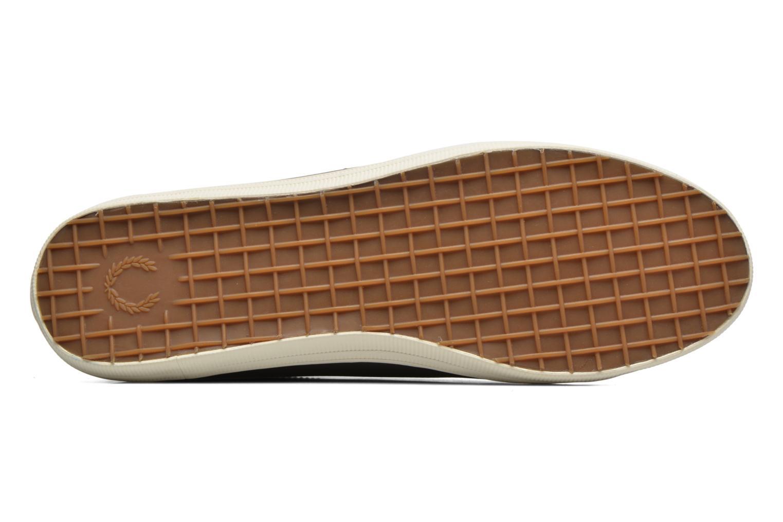 Sneaker Fred Perry Kingston Leather braun ansicht von oben