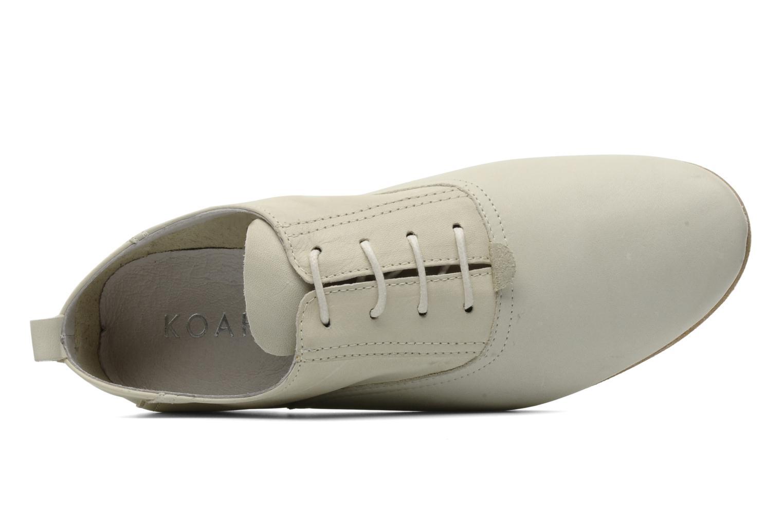 Chaussures à lacets Koah Dakota Beige vue gauche