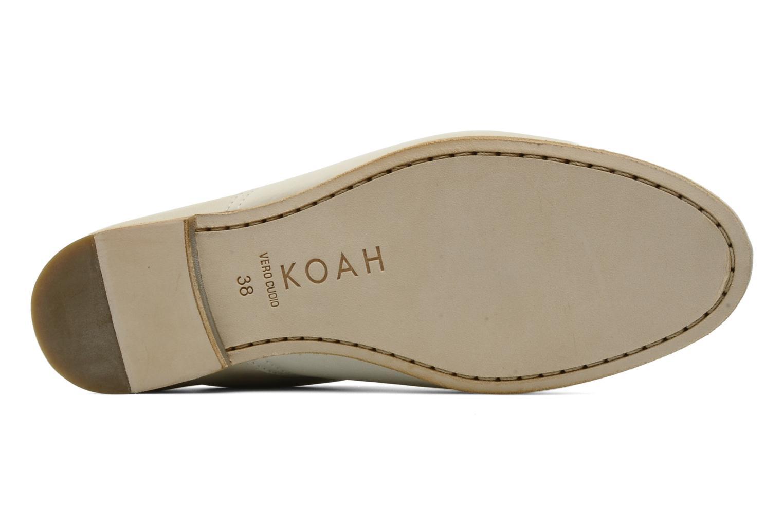 Chaussures à lacets Koah Dakota Beige vue haut
