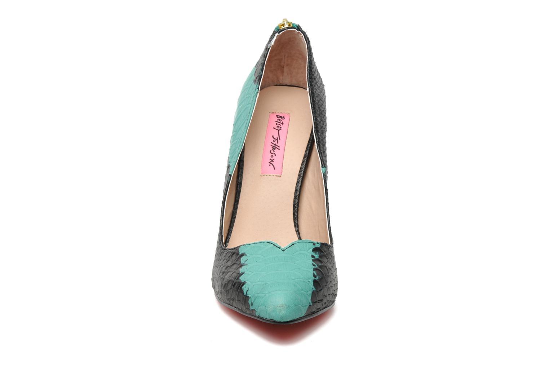 High heels Betsey Johnson TAYLR Green model view