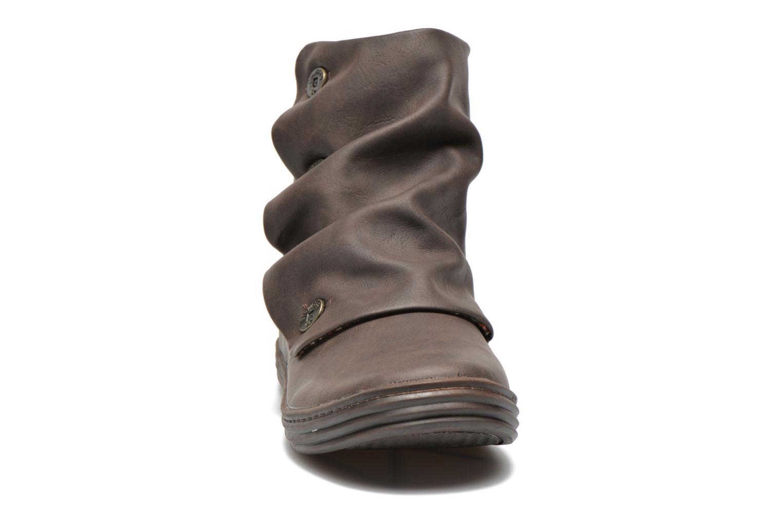 Bottines et boots Blowfish Rabbit Marron vue portées chaussures