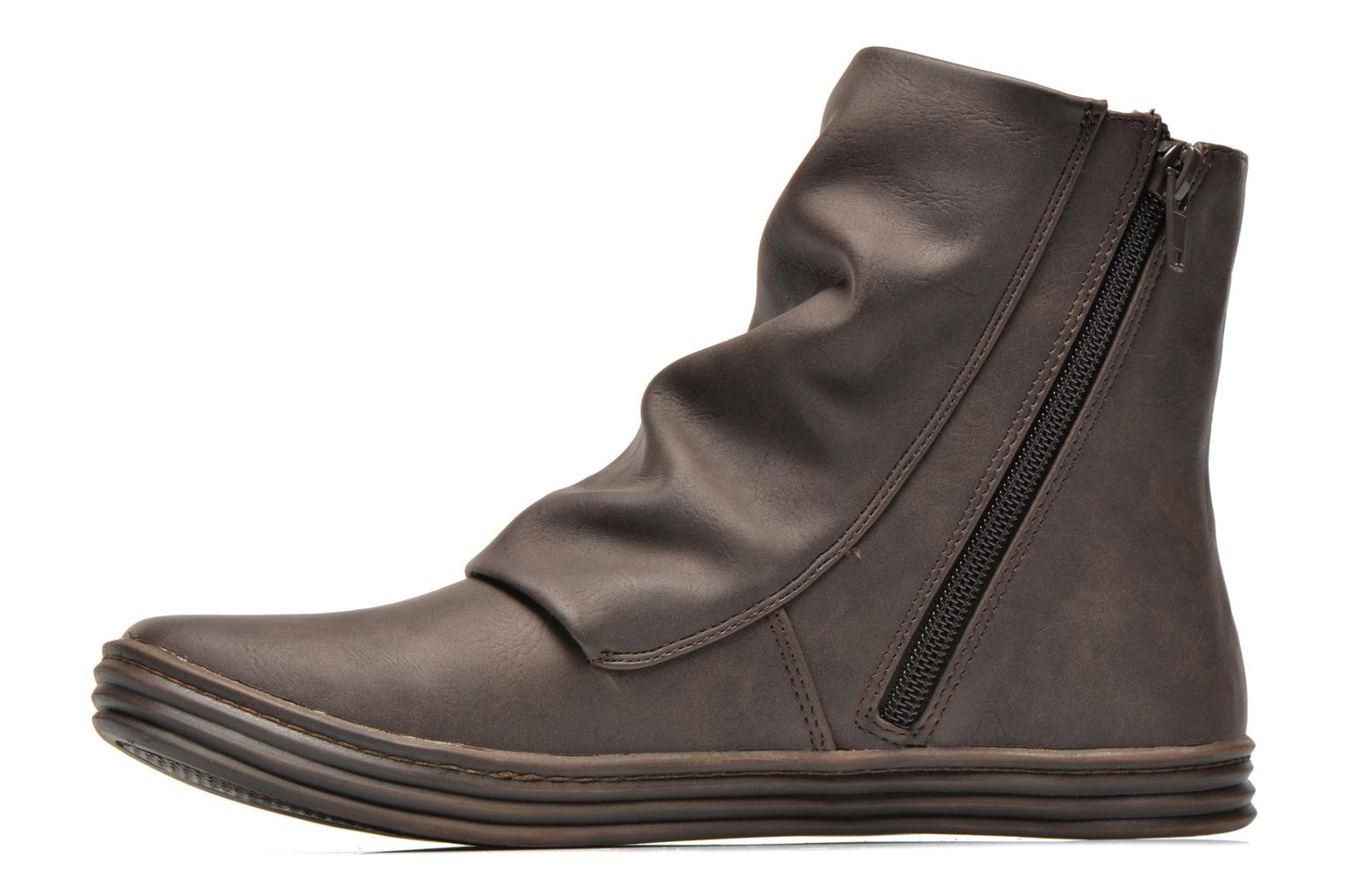 Ankle boots Blowfish Rabbit Brown front view