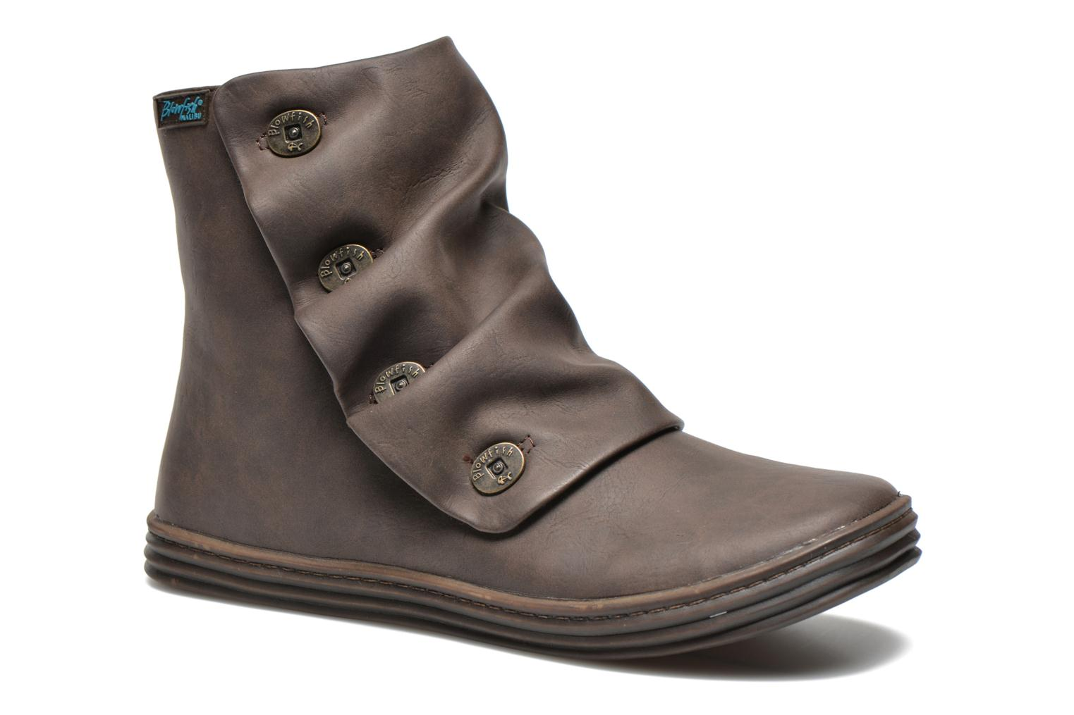 Ankle boots Blowfish Rabbit Brown detailed view/ Pair view