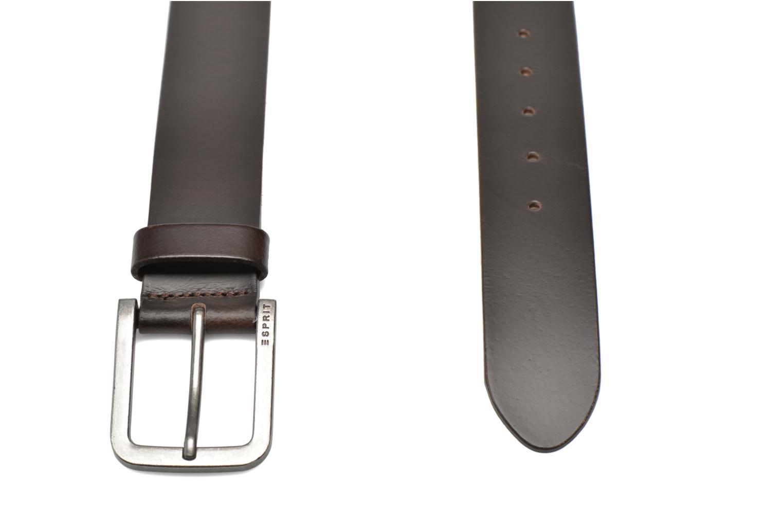 Gürtel Esprit Zilan Leather Belt 40mm braun schuhe getragen