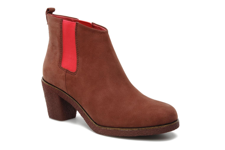 Bottines et boots Flipflop PEKKA DOS Marron vue détail/paire