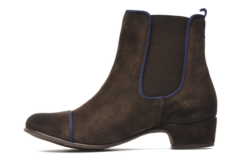 Boots en enkellaarsjes Kickers GALLAGHER Bruin voorkant