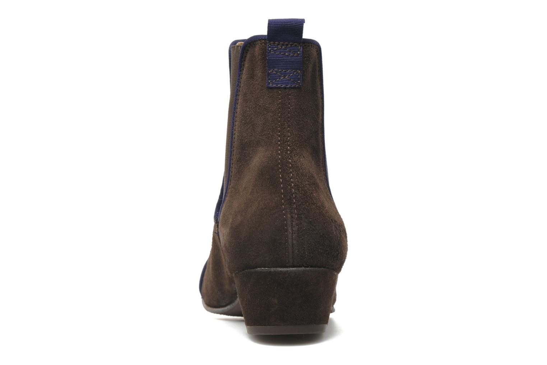 Boots en enkellaarsjes Kickers GALLAGHER Bruin rechts
