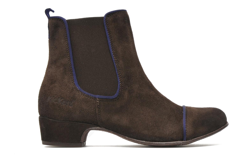 Boots en enkellaarsjes Kickers GALLAGHER Bruin achterkant