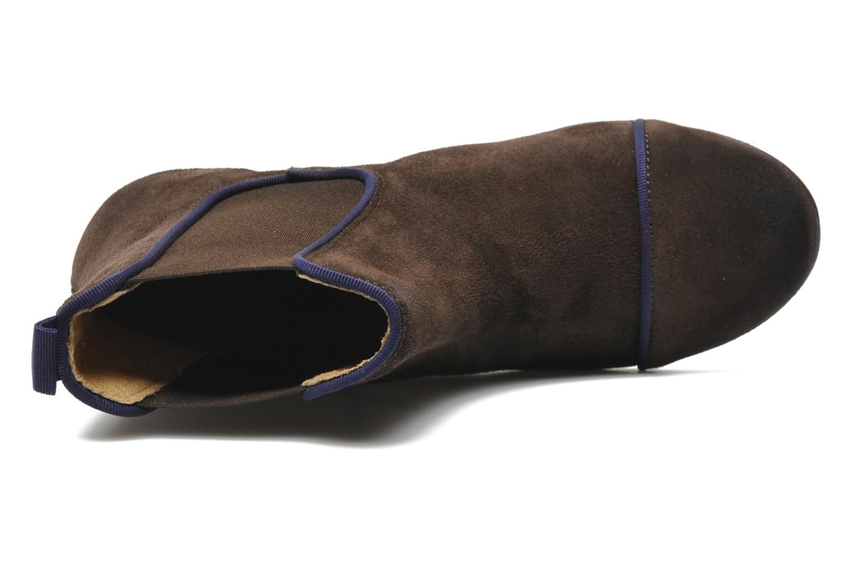 Boots en enkellaarsjes Kickers GALLAGHER Bruin links