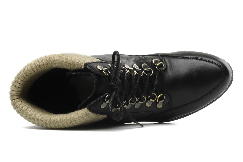 Boots en enkellaarsjes Derhy Caste Zwart links