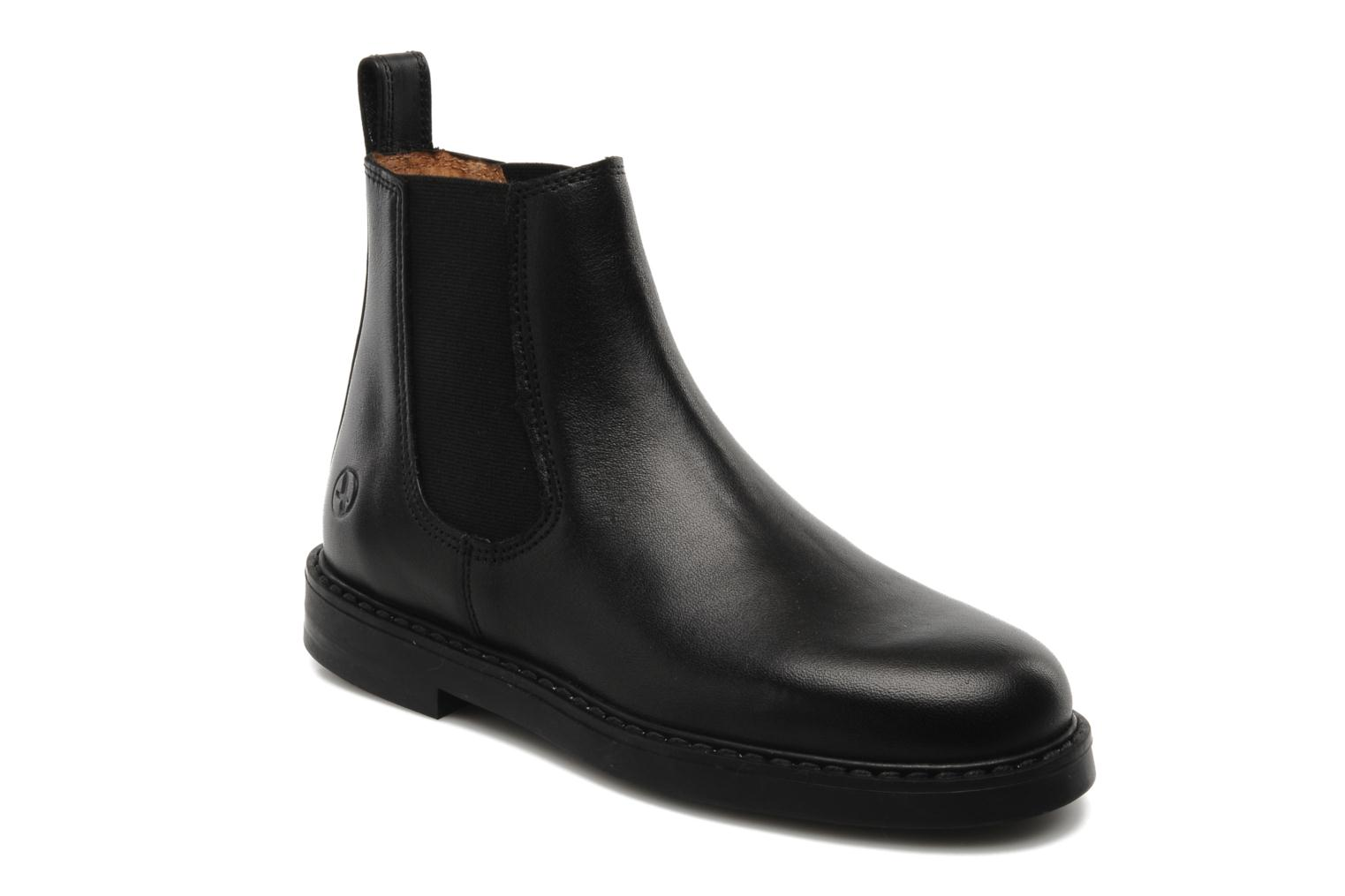 Ankle boots Aigle Shetland Black detailed view/ Pair view