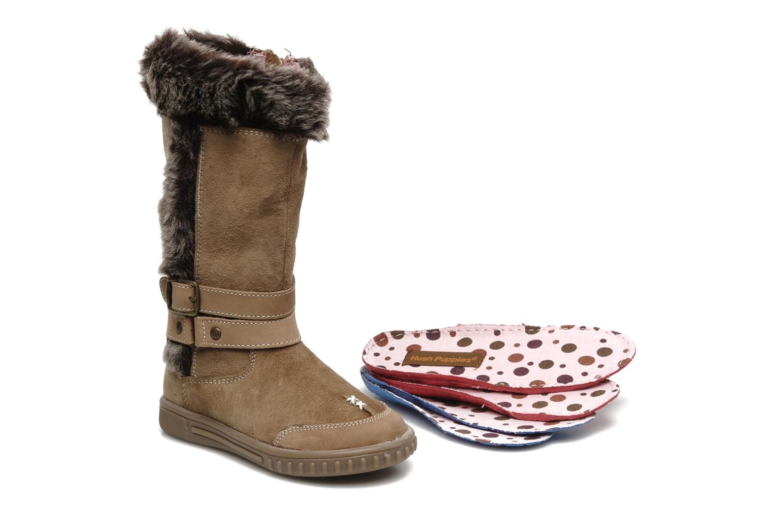 Boots & wellies Hush Puppies COLEY Brown 3/4 view