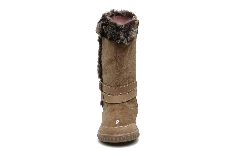 Bottes Hush Puppies COLEY Marron vue portées chaussures