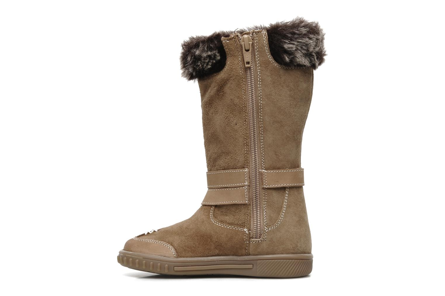 Boots & wellies Hush Puppies COLEY Brown front view