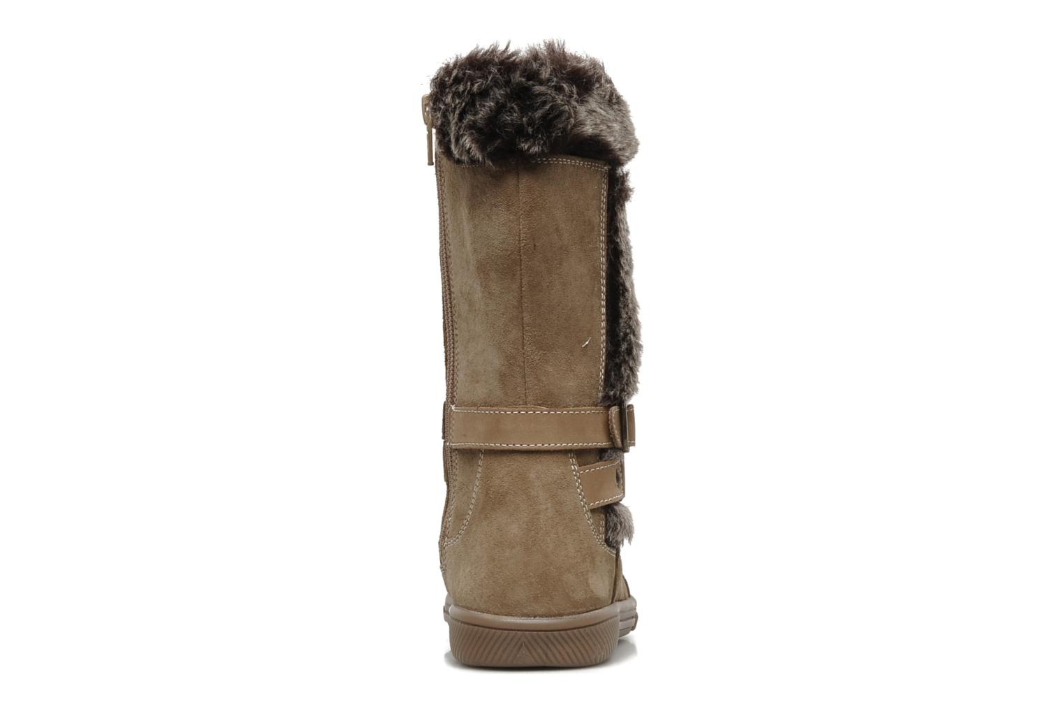 Boots & wellies Hush Puppies COLEY Brown view from the right