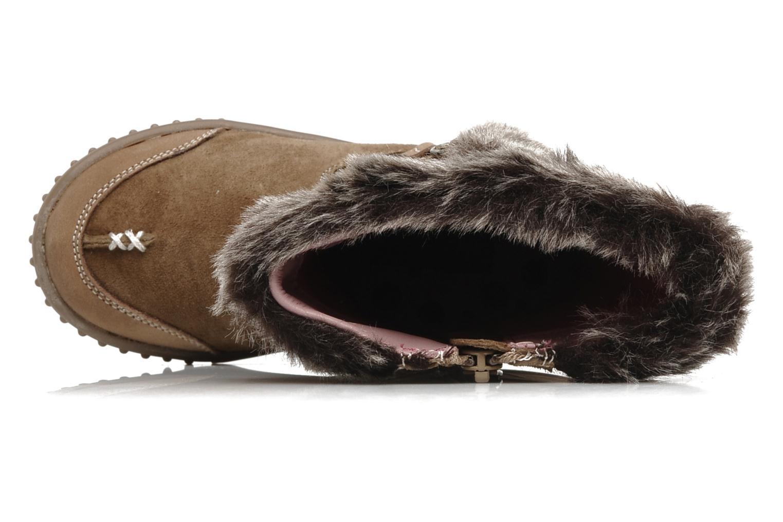 Stiefel Hush Puppies COLEY braun ansicht von links
