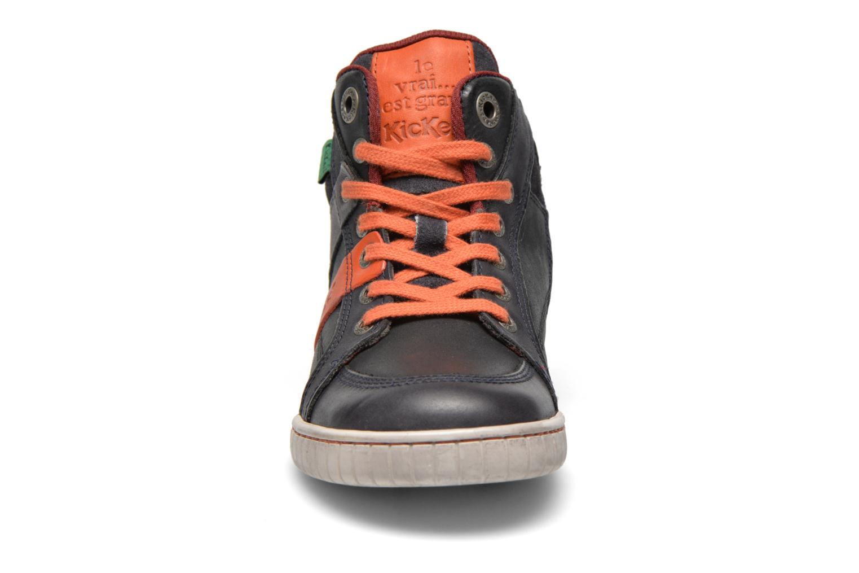 Baskets Kickers Wincut Noir vue portées chaussures