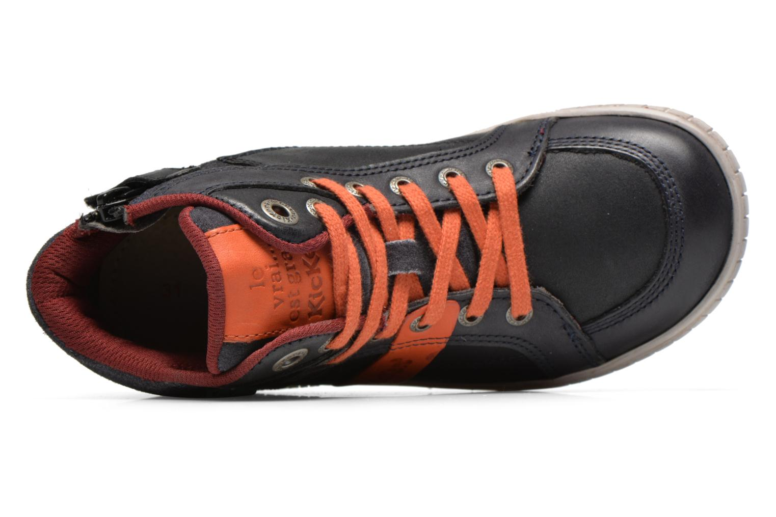Noir Orange Kickers Wincut (Noir)