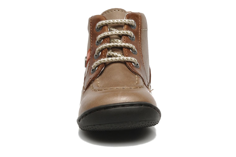 Bottines et boots Kickers GUGUS Beige vue portées chaussures